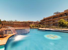 Golden Beach Apartamentos, hotel met zwembaden in Sant Carles de la Ràpita