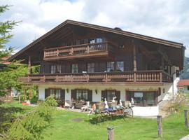 Ferienwohnung Adlerhorst im Haus Lohrey, Hotel in Reit im Winkl