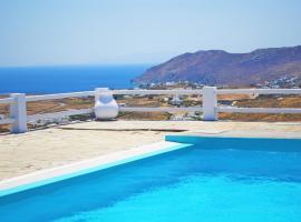 Mykonos Supreme Comfort Suites, villa in Kalafatis
