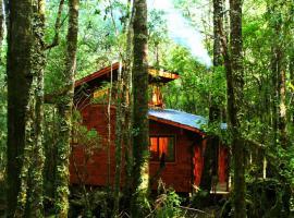 Cabañas Bosque Milenario, hotel cerca de Villarrica Volcano, Coñaripe