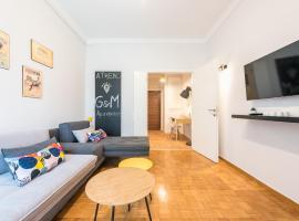 Gorgeous & Modern Apartment at Ampelokipi Metro Station, hotel near Ambelokipi Metro Station, Athens