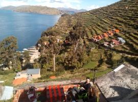 Las Cabañas Lodge, hotel en Isla de Sol