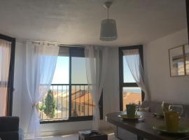 Studio cabine résidence Toi et Moi, apartment in Valras-Plage