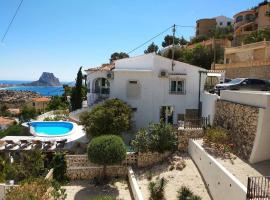 villa Grace,10p,seaview,pool, cottage in Calpe