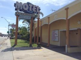 Colonial Pool & Spa Motel, motel in Long Beach