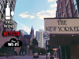 2BR Taste of NYC in BNE ★Central CBD★Wine★Netflix, hotel with jacuzzis in Brisbane