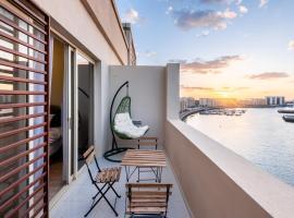 Stunning Sea View Apartments Mina Al Arab, apartment in Ras al Khaimah