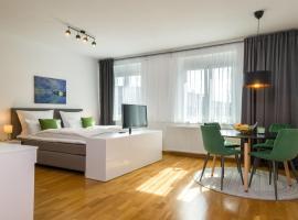 City Appartements Villach, Hotel in der Nähe von: Hauptbahnhof Villach, Villach