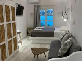 Alidian bay Suites Leros, apartment in Alinda
