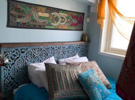 FlipFlop Beach Bar & Rooms, hotell i Falkenberg