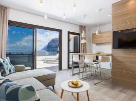 Los Gigantes Cliffs and Ocean view peaceful apartment, hotel in Acantilado de los Gigantes