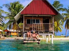 Private Cabin Over the Water PLUS Meals PLUS Day Tour - San Blas Islands, lodge in Panama City