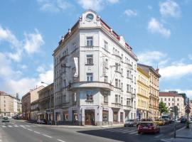 Hotel Gloria, hotel near Zizkov Television Tower, Prague