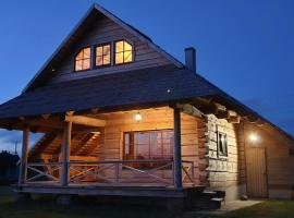 Brīvdienu māja Lāču namiņš/Bear house Liepājā