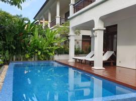다낭에 위치한 홀리데이 홈 Havana Villa 3BR with private pool, Villas Da Nang