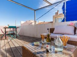 Le Solarium - Superbe maison et son secret toit terrasse, holiday home in Marseille