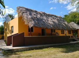 Quinta La Rejoyada Cerca de Chichen-Itza, hotel en Chichén Itzá