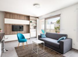 Appartement de standing avec grande terrasse, hôtel à Villeurbanne près de: Université Lyon 1