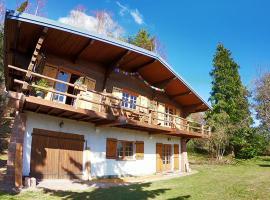 Chalet Namaste, cabin in Labaroche