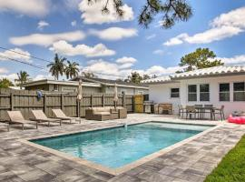 3 Bedrooms Oasis House with Pool in Ft Lauderdale, villa in Fort Lauderdale