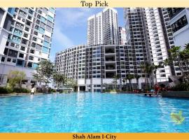 I-City Homestay@5min walk to Shopping Mall, apartment in Shah Alam