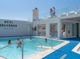 Hotel California Urban Beach - Adults Only, отель в Албуфейре