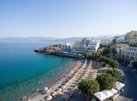 Spacious Apartment At Kitroplatia, budget hotel in Agios Nikolaos