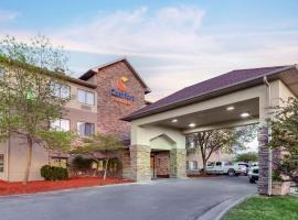Comfort Suites Omaha East-Council Bluffs, hotel near Eppley Airfield - OMA, Council Bluffs