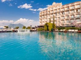 Grand Hotel Bristol, boutique hotel in Stresa