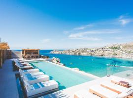 Super Paradise Suites, hotelli kohteessa Super Paradise Beach