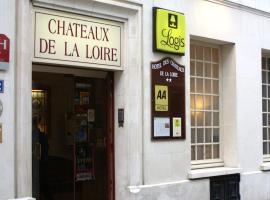 Logis Hôtel Des Châteaux De La Loire, hotel in Tours