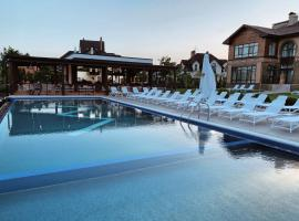 WISH Aqua&SPA Resort, hotell nära Boryspil internationella flygplats - KBP, Vishenki