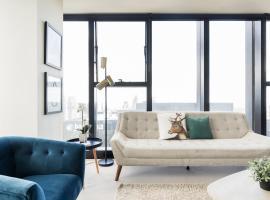 Dzīvoklis Wake to Eureka Tower Views from Prestigious Collins St Melburnā