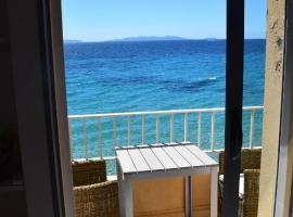 plage d'aiguebelle, hôtel au Lavandou