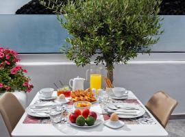 Irene City Villas, hôtel avec piscine à Fira