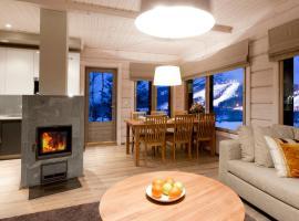 Helmikkäpolku Cottage, hotelli kohteessa Jämsä