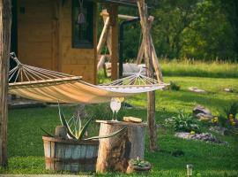 Father's Land, cabin in Rakovica