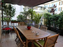 la terrasse, hotel near Cimiez Monastery, Nice