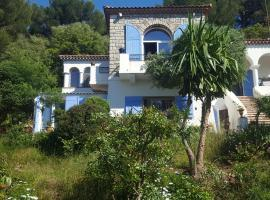 Magnifique gite au Cap d'Antibes à 300m des plages, self catering accommodation in Antibes