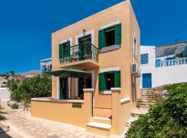 Matinas House, hotell i Chalki