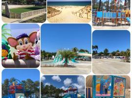 Mobil-home Contis plage - Landes, campground in Saint-Julien-en-Born