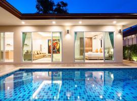 Luxury Pool Villa A18 / 3BR 6-8 persons, hotel in Ban Huai Yai