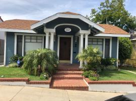 Charming Colonial Craftsman Cottage on Hillside, vacation rental in Long Beach