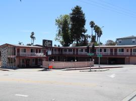 Capri Motel Santa Cruz Beach Boardwalk, hotel in Santa Cruz