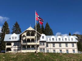 Eikerapen Gjestegård (Åseral), hotell i nærheten av Prekestolen i Åseral