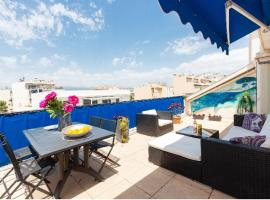 Penthouse Antibes City Centre/Beach, pet-friendly hotel in Antibes
