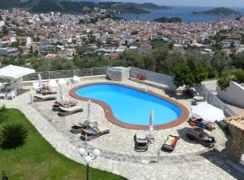 Blue Horizon Studios, romantic hotel in Skiathos