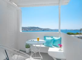 central suites, hotel near Mykonos Old Port, Mikonos