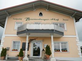 Breitenberger Hof, Hotel in Breitenberg