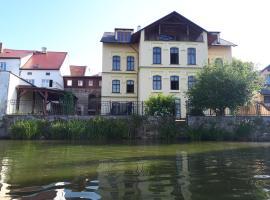 Apartmány Šetkova vila, hotel in Jindřichŭv Hradec